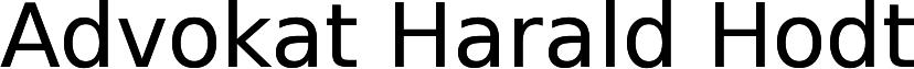 Advokat Harald Hodt Logo